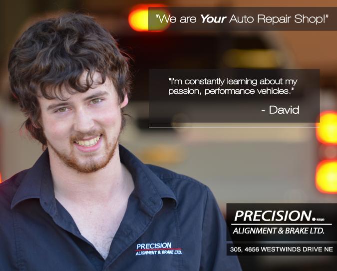 David Calgary Auto Repair Shop Employee