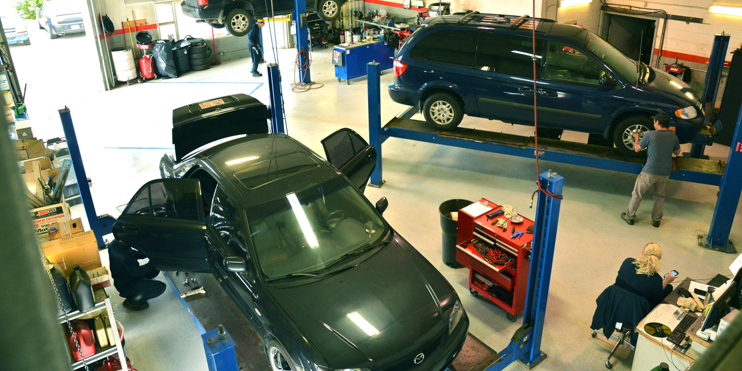Precision Alignment and Brake is an auto repair shop in Calgary
