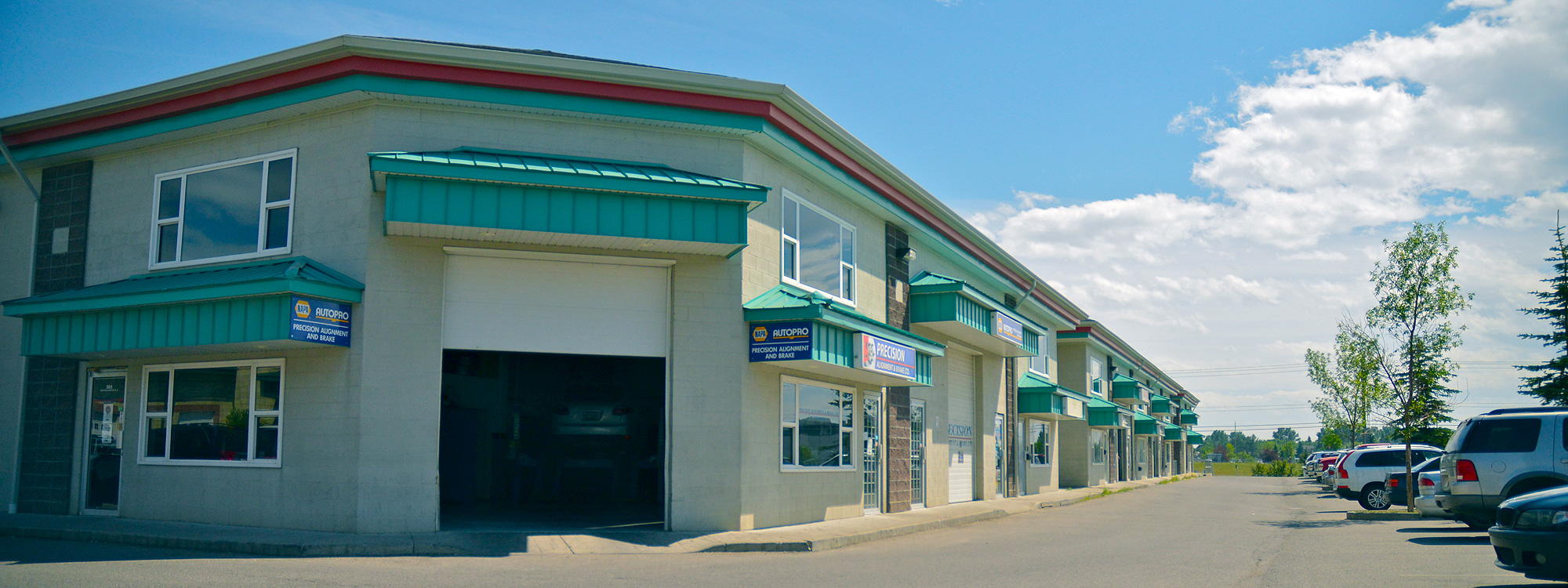 Precision Alignment and Brake is located in northeast Calgary